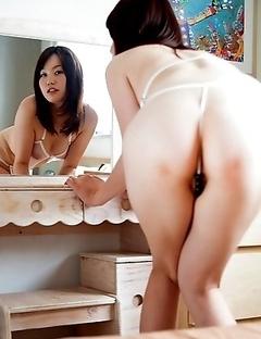 Miyu lusty see-through lingerie tease!