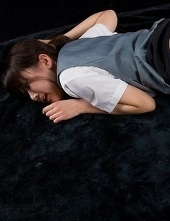 Kinky cutie Karina Oshima loves passionate fingering and slow teasing