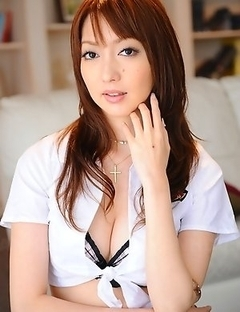 Izumi Tachibana teases for the cam