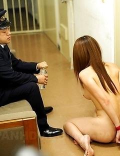 Brunette slut gets fucked so hard